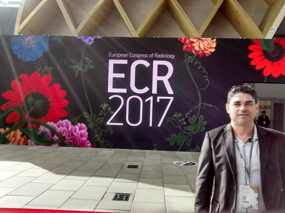 Diretor Geral do Instituto Cimas, Prof. Lucivaldo Santos, participa do Congresso Europeu – ECR 2017