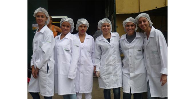 08/07/2011 - Alunas do Cimas participam de campanha