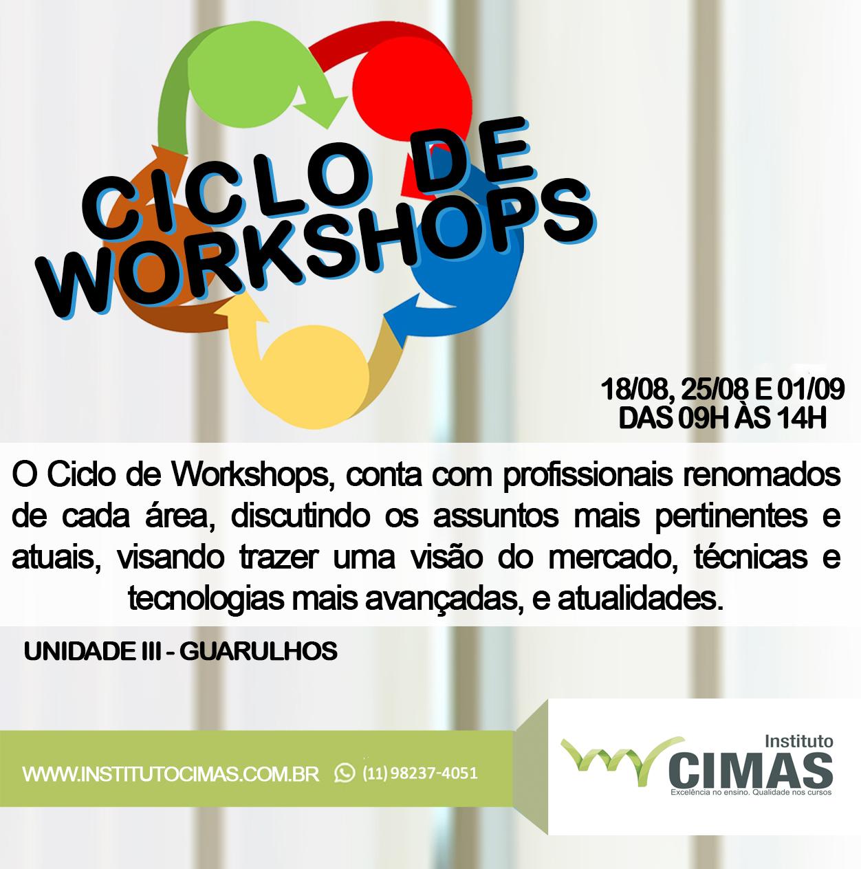 Ciclo de Workshops