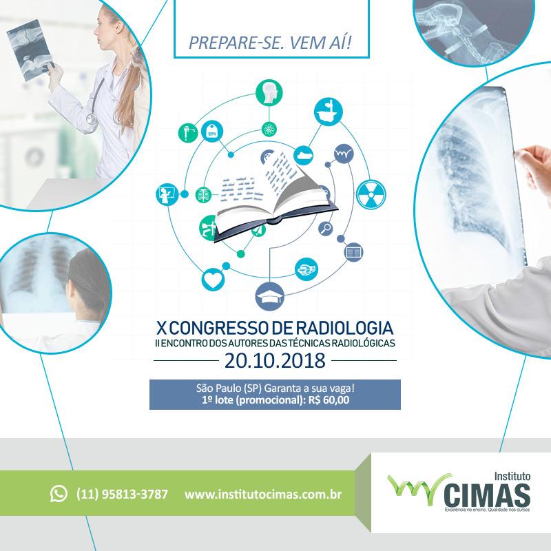 X CONGRESSO DE RADIOLOGIA II ENCONTRO DOS AUTORES