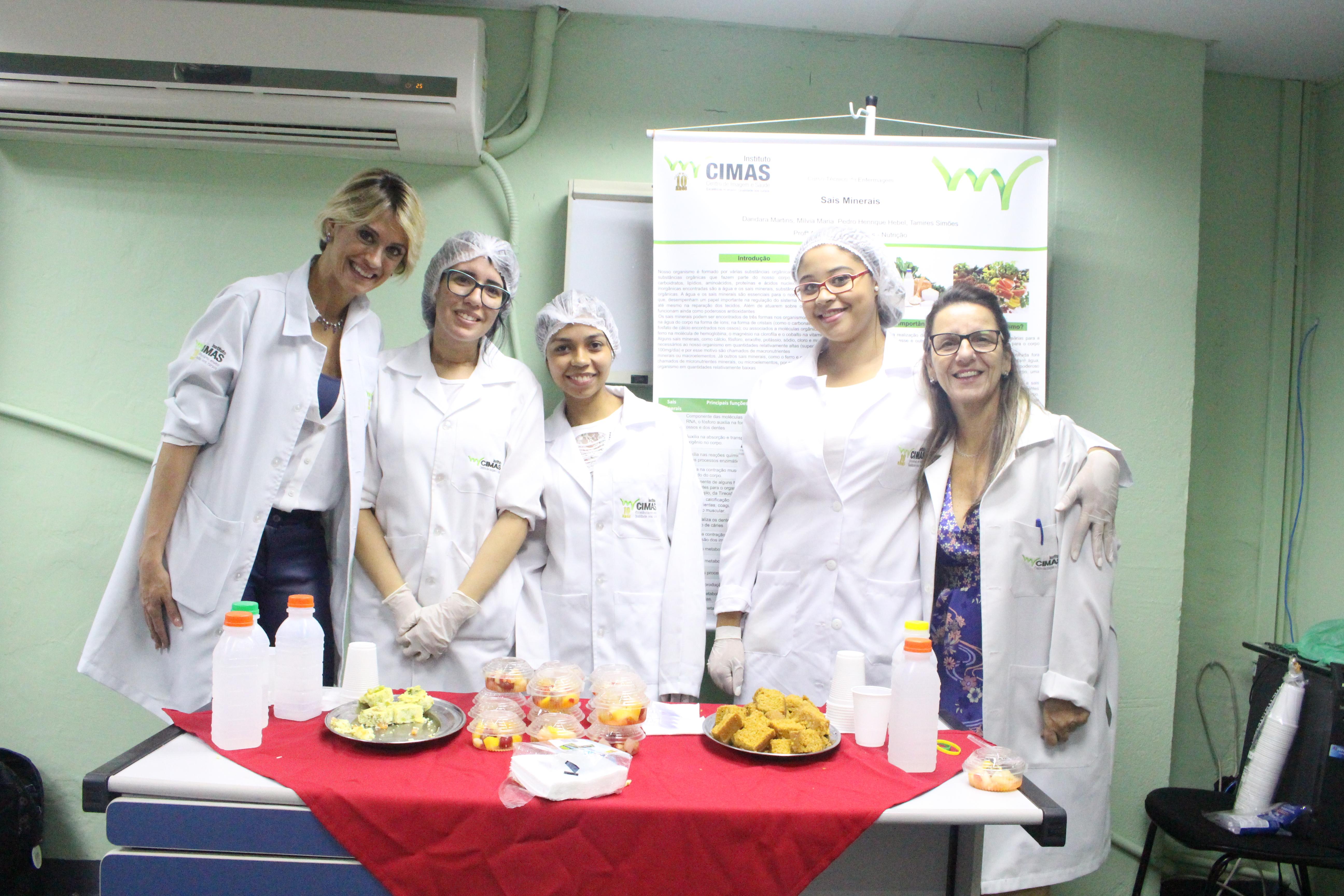 - Feira de Nutrição dos Alunos de enfermagem 1ºs/2018