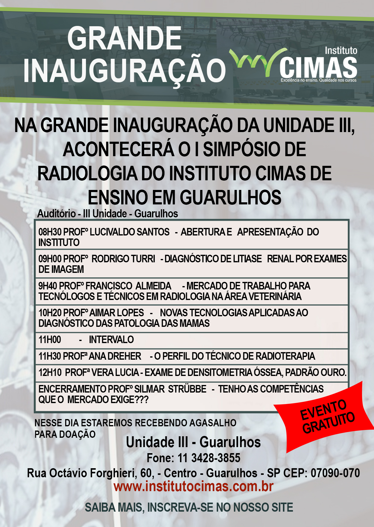 I Simpósio de Radiologia em Guarulhos