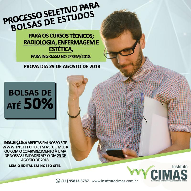 PROCESSO SELETIVO PARA BOLSAS DE ESTUDOS