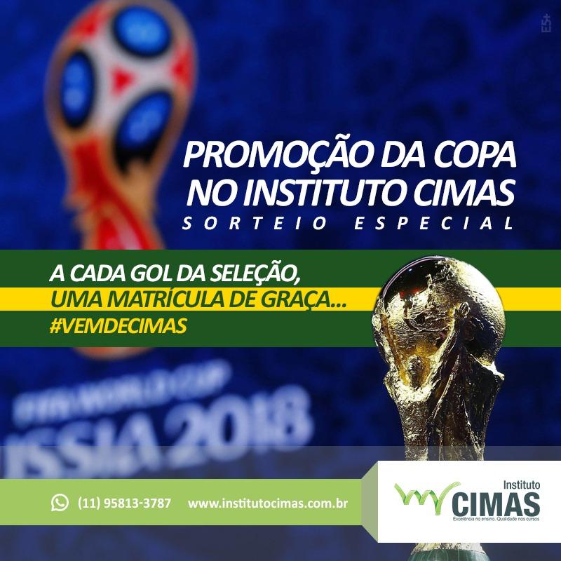 Promoção da Copa no Instituto Cimas
