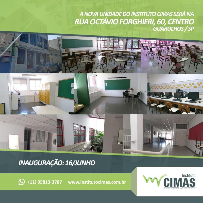 Nova unidade do Instituto Cimas de Ensino